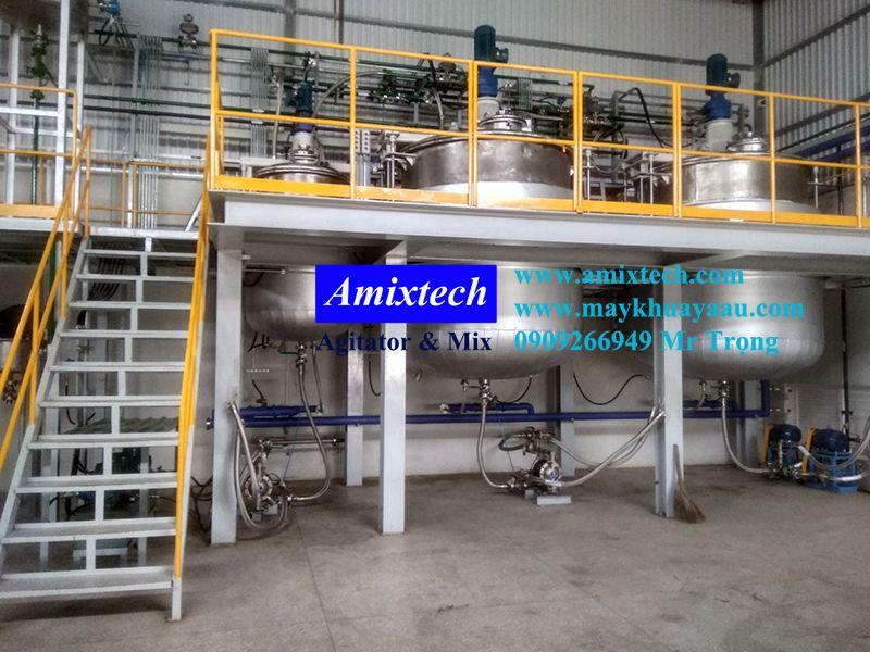 bồn khuấy trộn công nghiệp amix-bk06