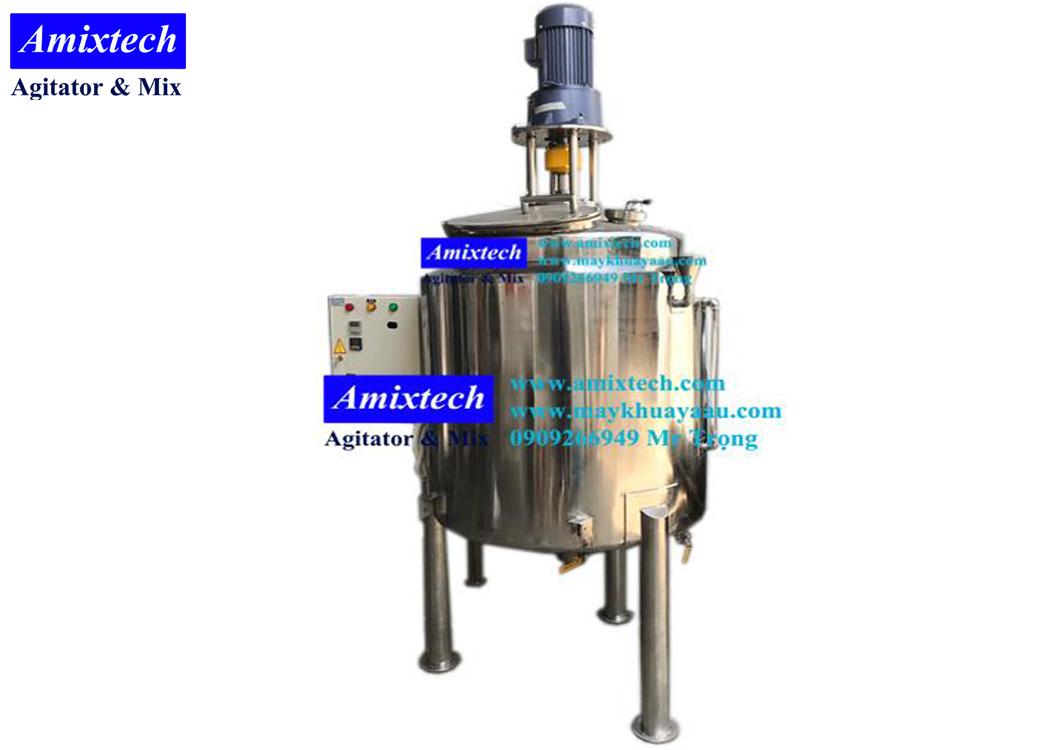 bồn khuấy gia nhiệt thực phẩm Tank-A02