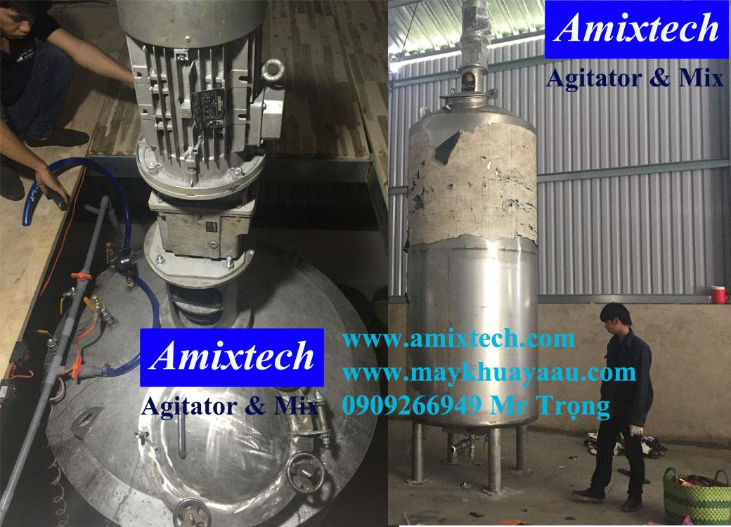 bồn khuấy công nghiệp amix bk04