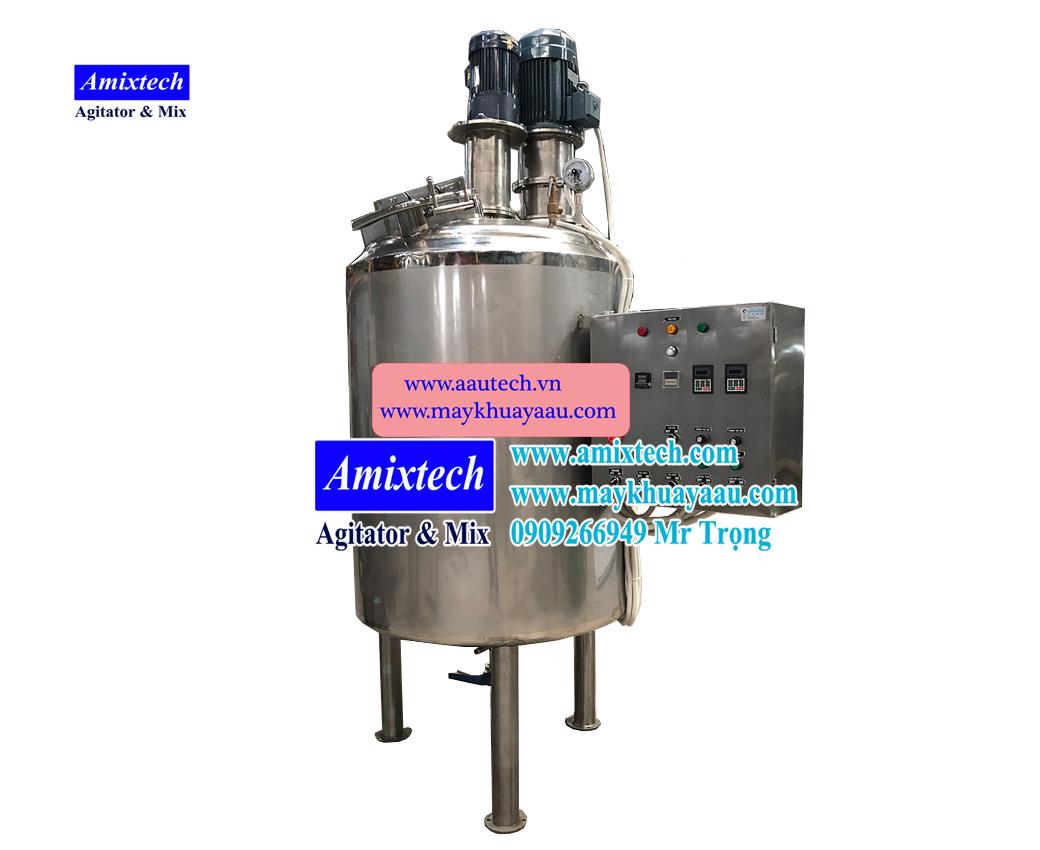 bồn nhũ hóa gia nhiệt 500L NH-06