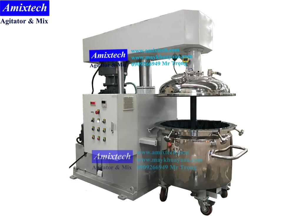 máy khuấy thủy lực hút chân không Amix-TL02