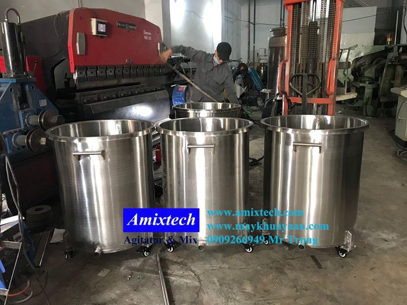 bồn chứa inox 100 lít AB-01-100