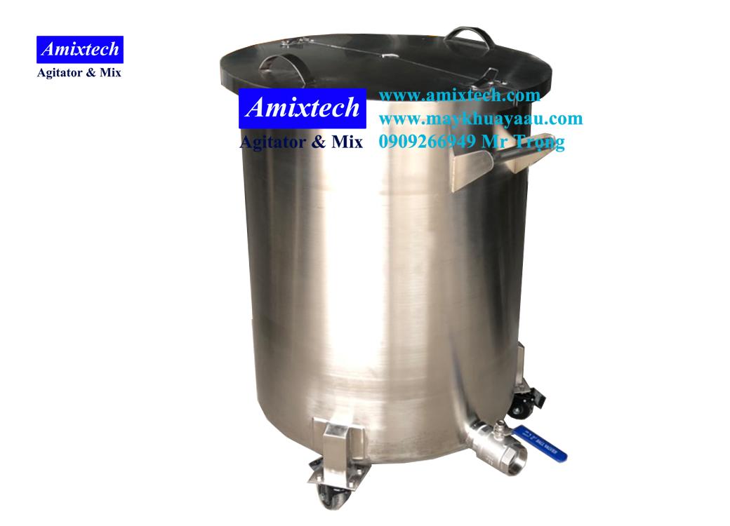 bồn chứa inox 200 lít AB-01-200
