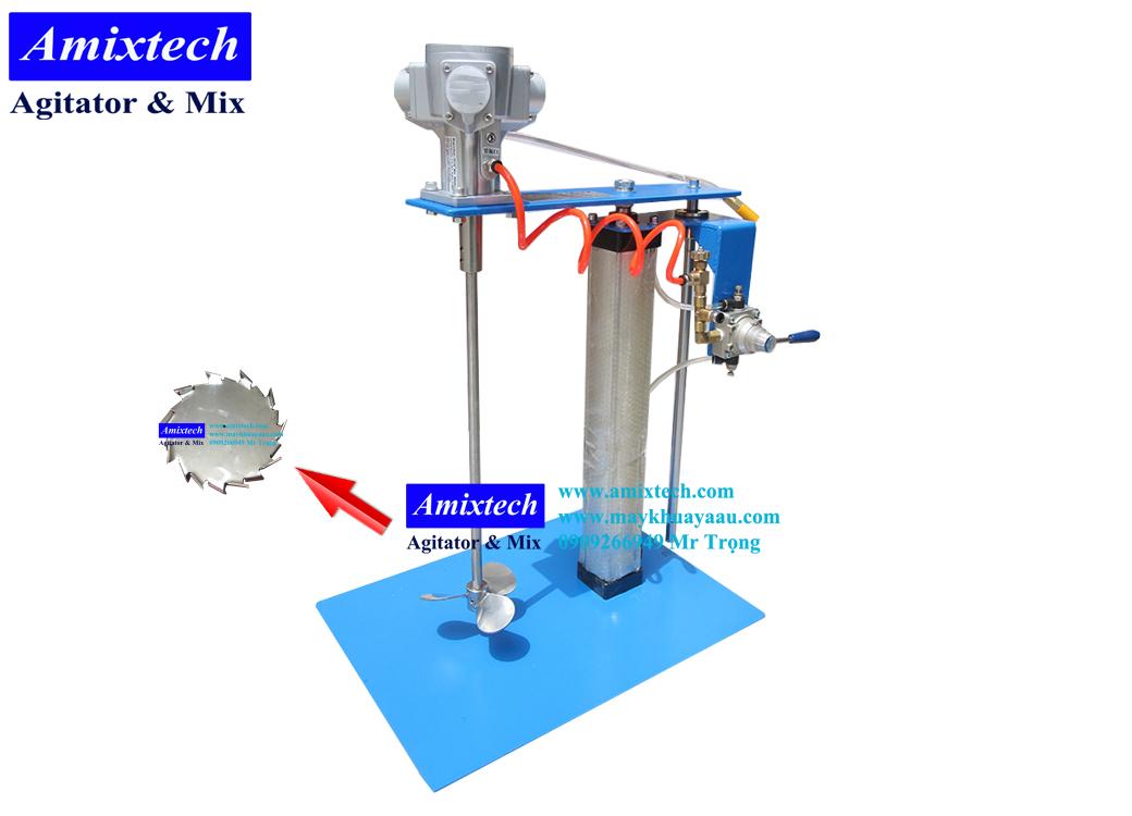 máy khuấy khí nén 20 lít Amix-K02