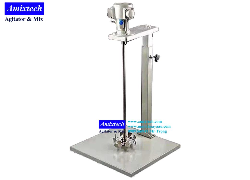 máy khuấy khí nén Amix-K01