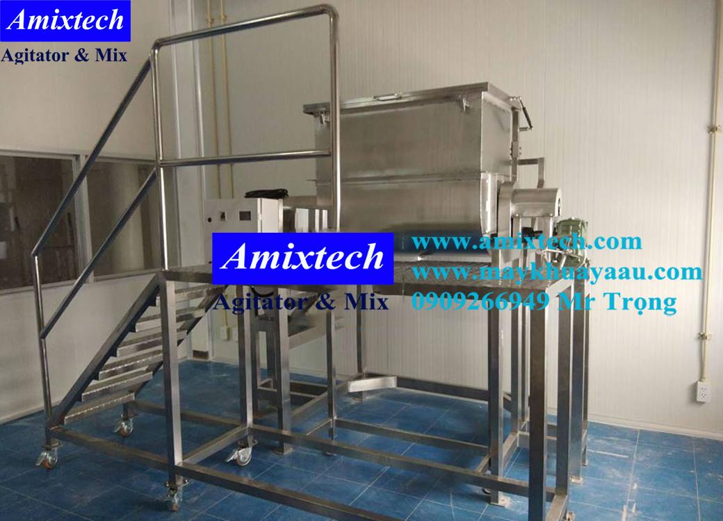 máy trộn thực phẩm nằm ngang Amix-mt10
